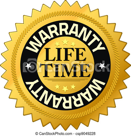 Warranty lifetime Quality Guarantee Badges - csp9049228