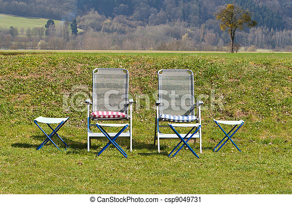 Relaxing chairs - csp9049731