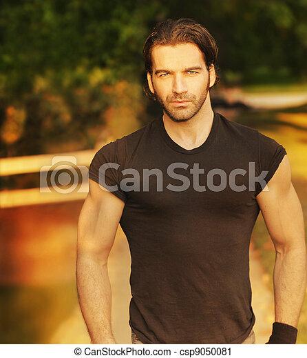Masculine classic man - csp9050081