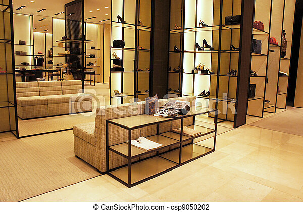 Stock Photo Of Boutique Shop Interior Decoration Of