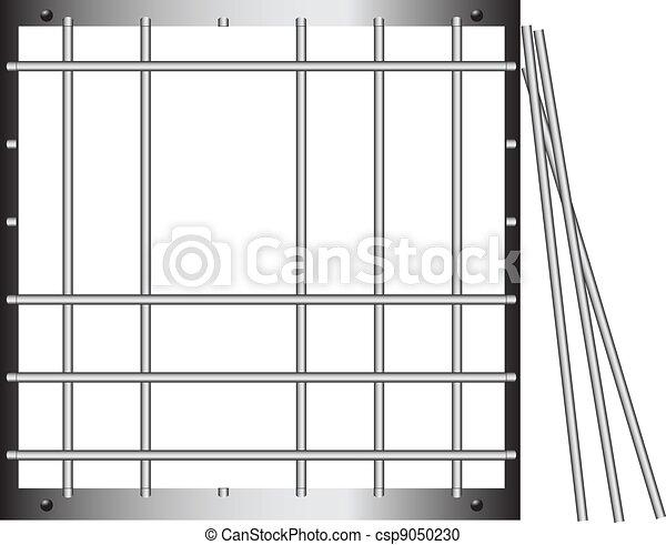 Prison bar - csp9050230