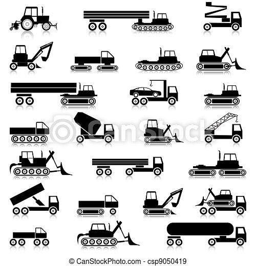 Cars, vehicles. Car body. - csp9050419