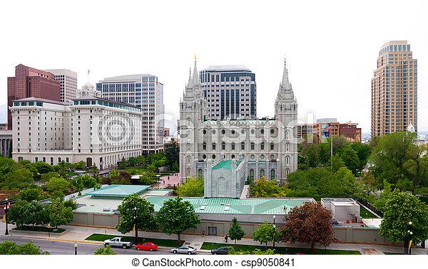 Salt Lake City - csp9050841