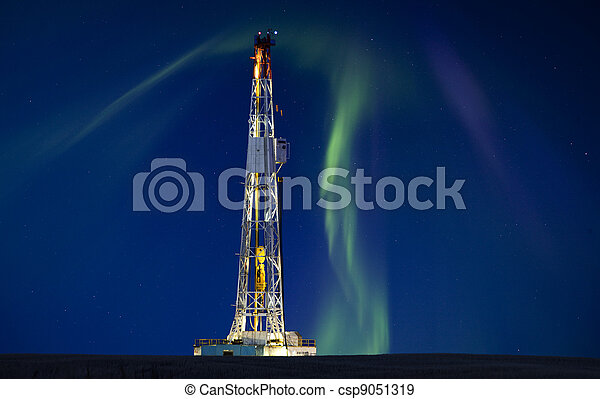 Drilling Rig Potash Mine - csp9051319
