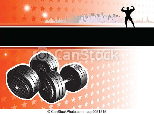 passion of bodybuiling - csp9051815