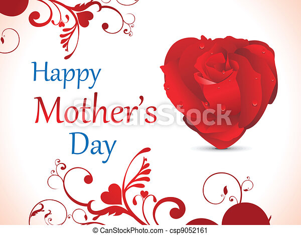 abstract mother day background - csp9052161