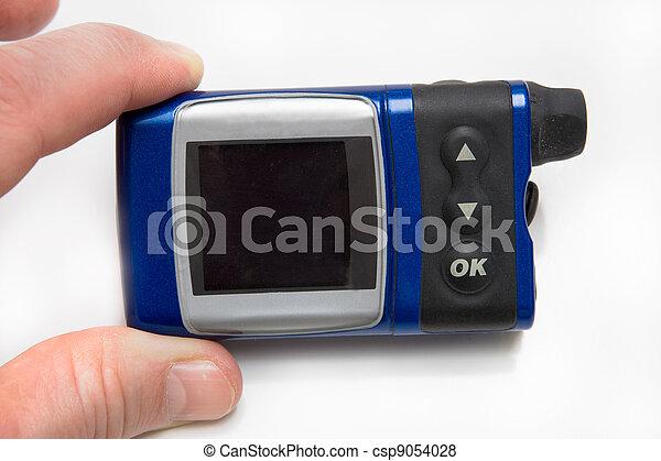 Insulin Pump for Diabetes - csp9054028
