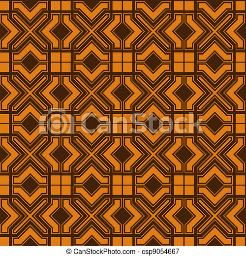 Seamless background in islamic style - csp9054667