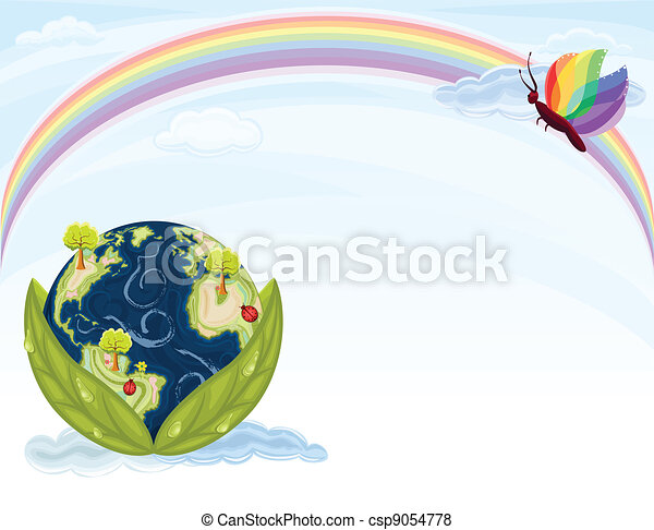 Green Earth - Ecology - csp9054778