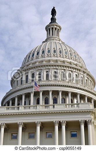 Washington DC Capitol Hill Dome - csp9055149