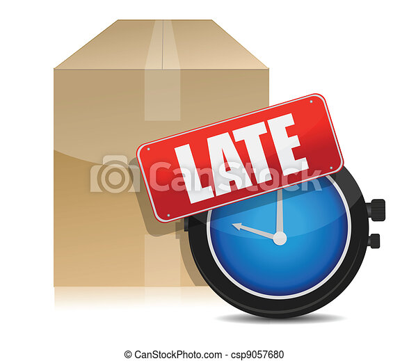 late delivery box and watch - csp9057680