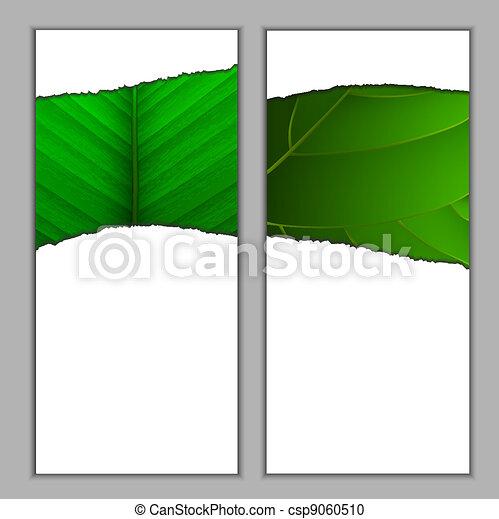 Vertical seasonal banners - csp9060510