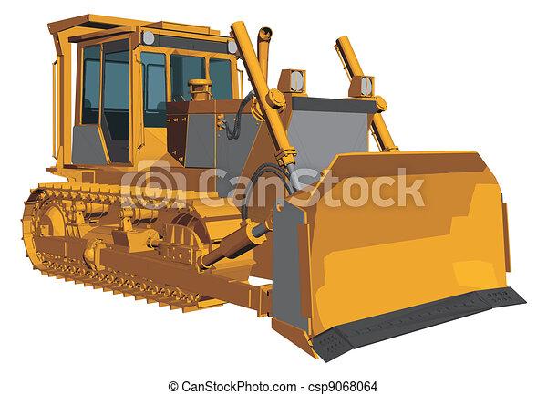 Bulldozer - csp9068064