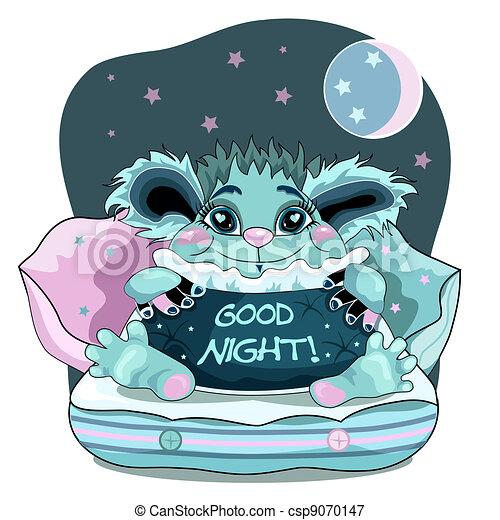 Good night - csp9070147
