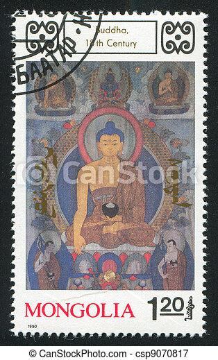Buddhist Deities - csp9070817