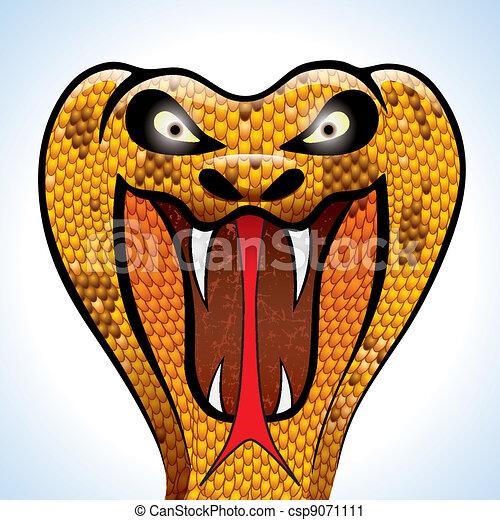 Scary Cobra Head - csp9071111