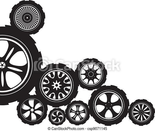 automotive wheel  - csp9071145