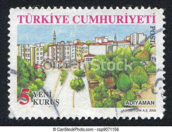 province Adiyaman - csp9071156