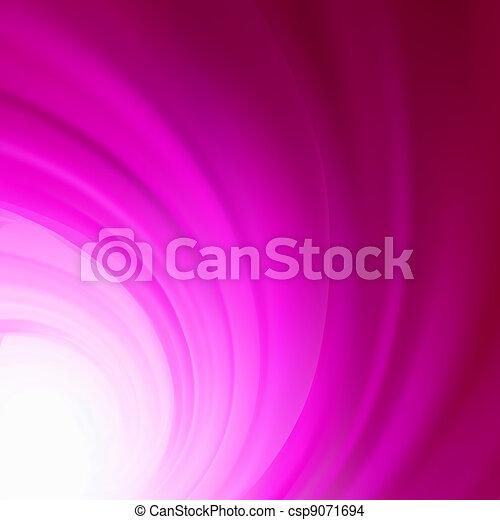 Color mystic smoke. Fractal. EPS 8 - csp9071694