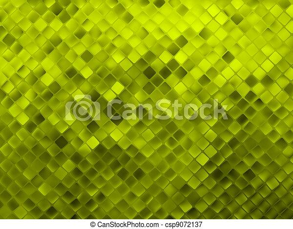 Green glitter background. EPS 8 - csp9072137