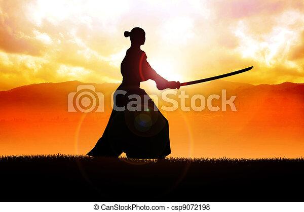 Samurai - csp9072198