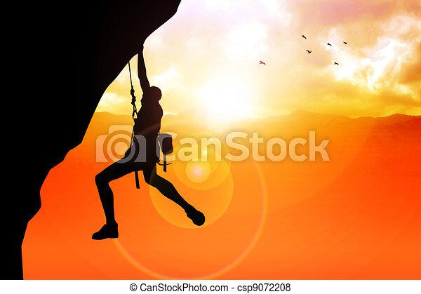 Cliff Hanger - csp9072208