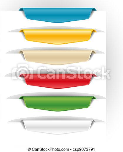 Bookmark Vector Clipart EPS Images. 44,125 Bookmark clip art ...