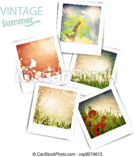 Vintage summer photos - csp9074613
