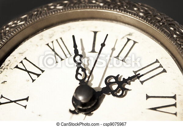 Time passing away