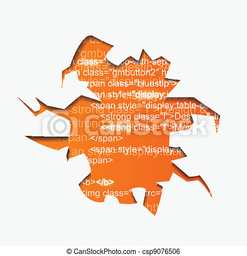 Abstract Vector Hole with Program Text - csp9076506