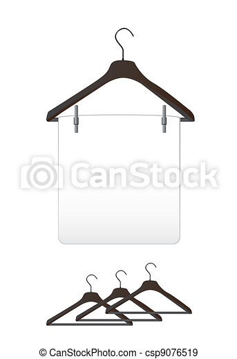 Clothes hangers - csp9076519