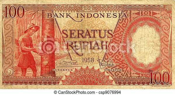 Money of Indonesia - csp9076994