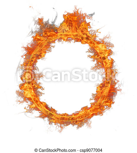 Ring Of Fire Burning