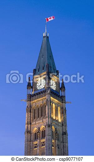 8 O'Clock Politics - csp9077107
