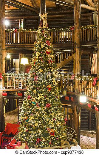 bilder von h tte weihnachten baum a 3 storey weihnachten baum csp9077438 suchen sie. Black Bedroom Furniture Sets. Home Design Ideas