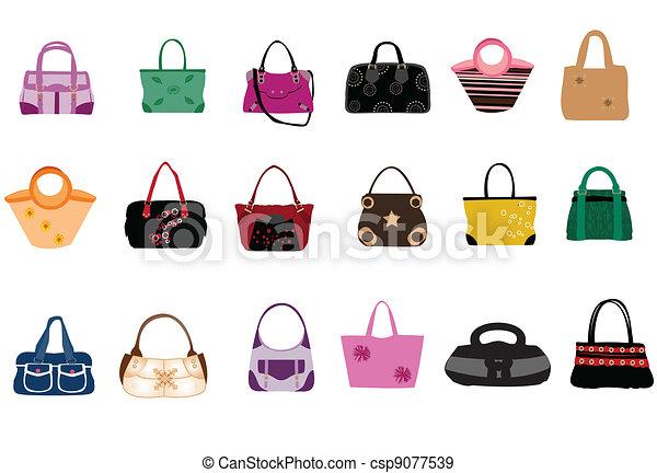 Fashion bags - csp9077539