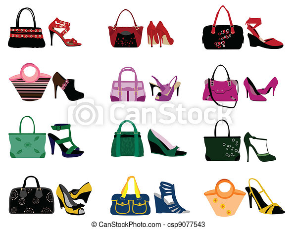 Shoes Bags Logo Fashion