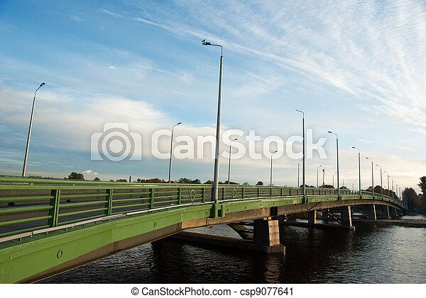 Bolshoy petrovsky bridge in Saint-Petersburg - csp9077641