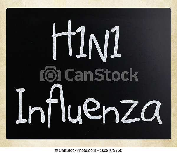 H1N1 Influenza Virus - csp9079768