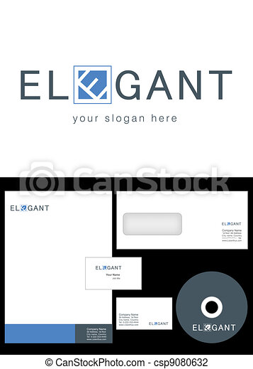 Elegant Logo Design - csp9080632