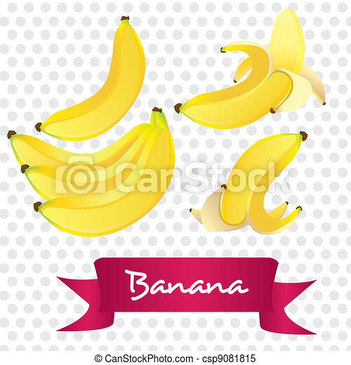bananas set - csp9081815