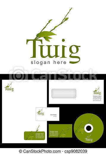 Twig Logo Design - csp9082039