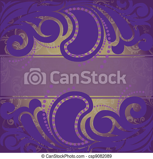 purple background - csp9082089