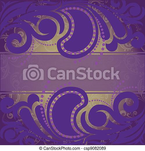 purple background - csp9082089