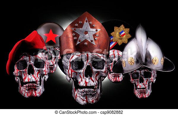 skulls - csp9082882