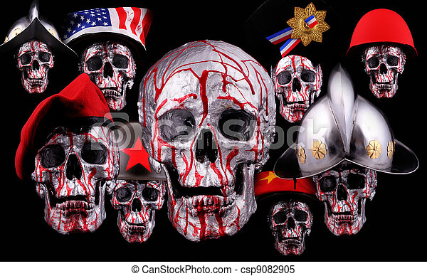skulls - csp9082905
