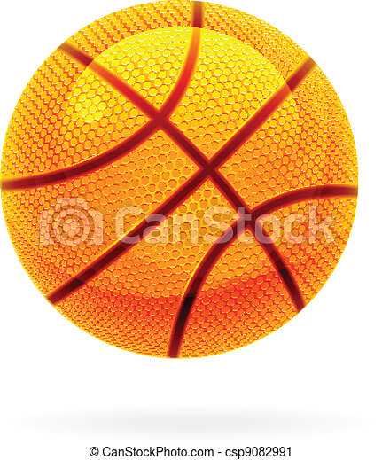 Orange basket ball - csp9082991