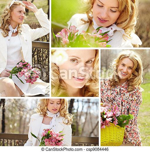 Pretty woman - csp9084446