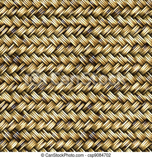 Basket Weave Seamless Pattern - csp9084702