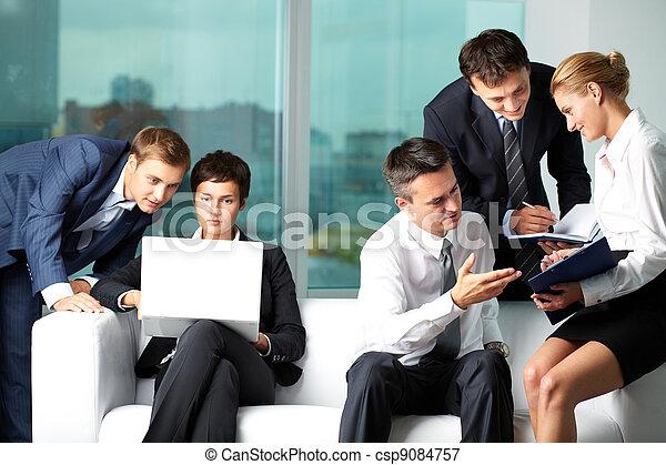 Business communication  - csp9084757